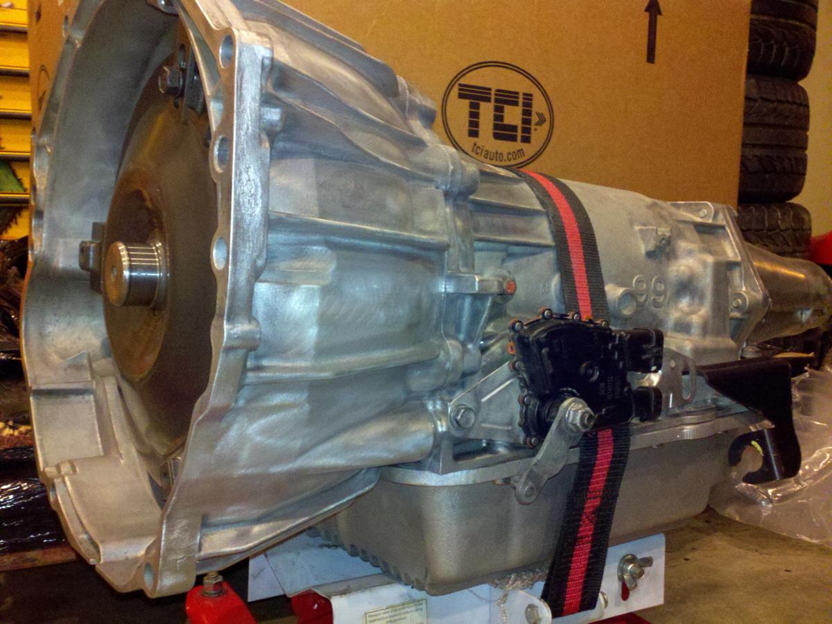 TCI 4L60e Street Fighter transmission - Hot Rod Regal