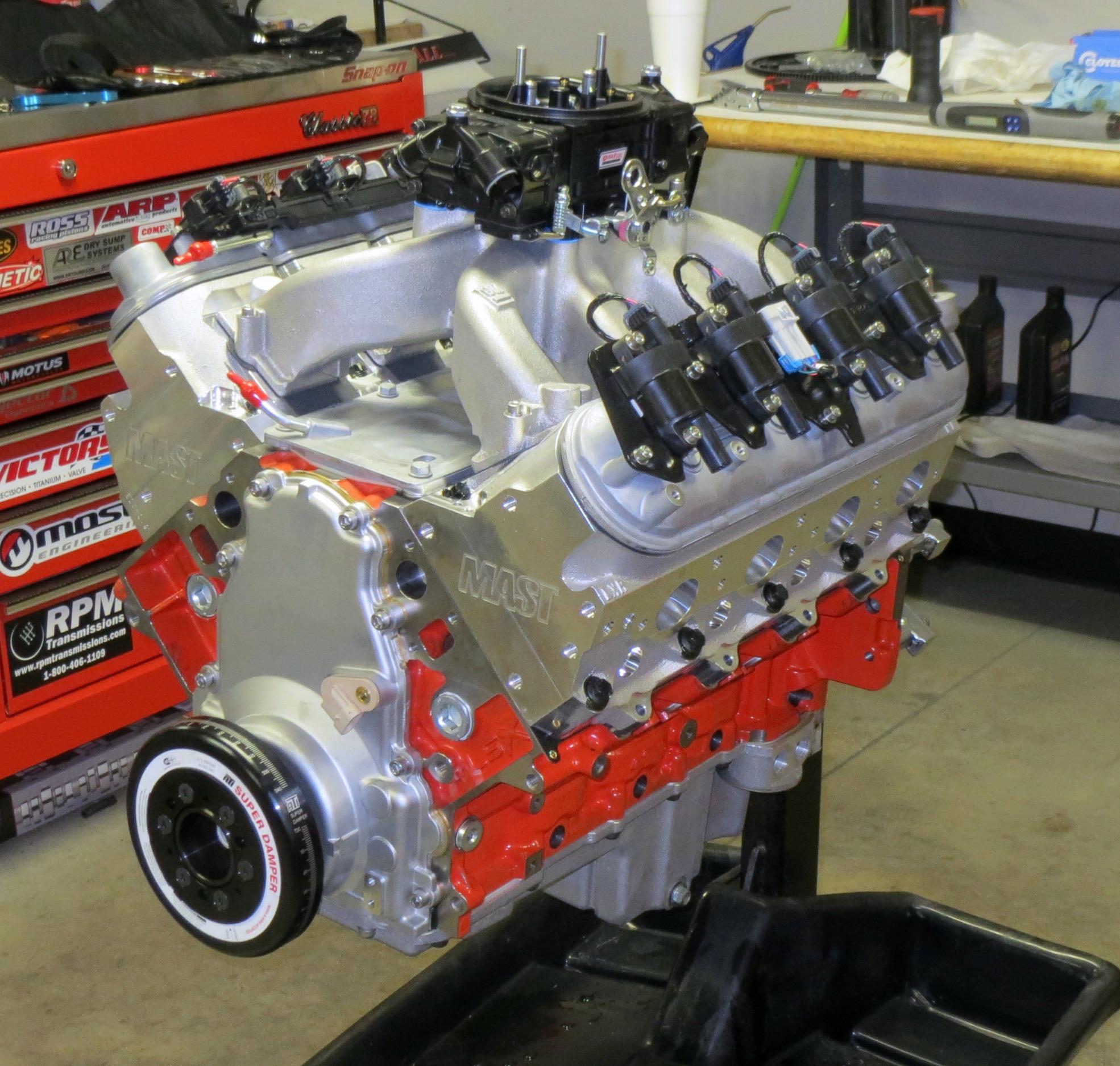 Mast Motorsports engine pic