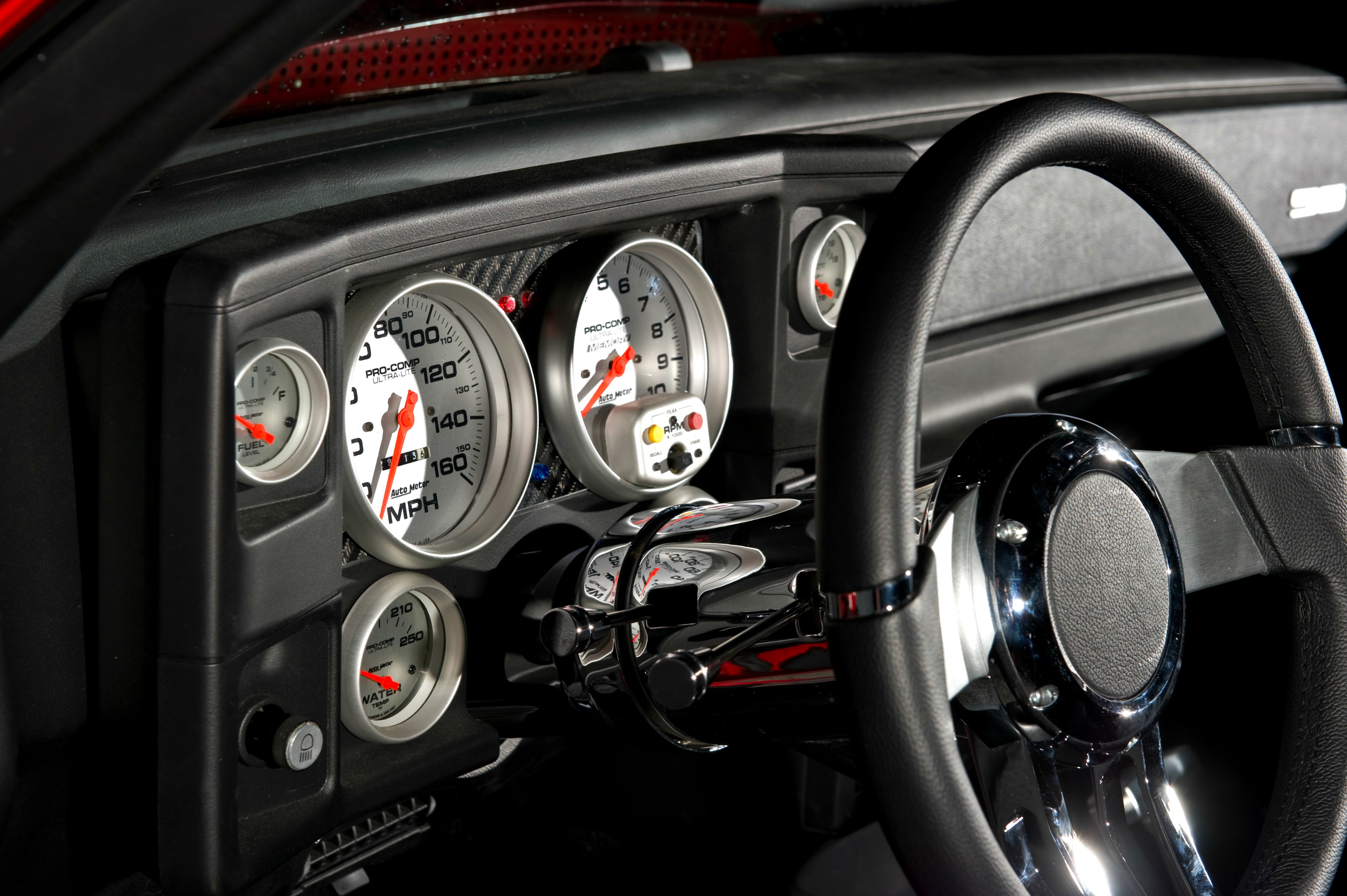 custom dash with autometer