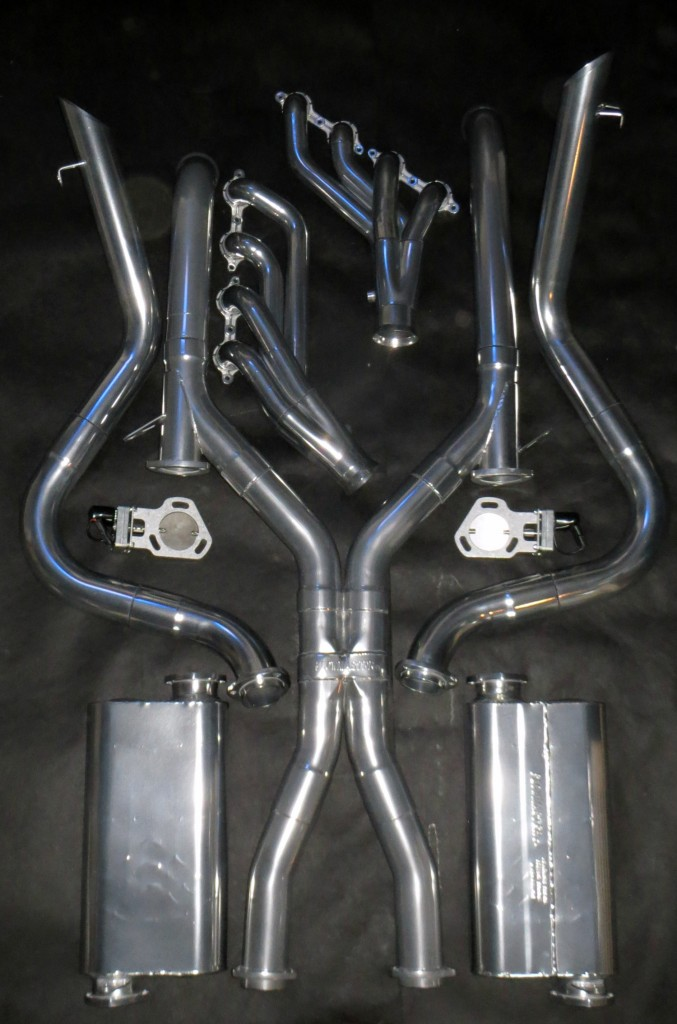 Thanks to NitroPlate, my stainless steel exhaust system will look great for a very long time. There should be very little heat transfer from the engine exhaust to the floor pans of the Hot Rod Regal