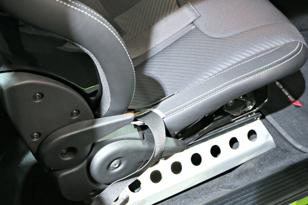Side seat trim idea